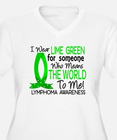 Means World To Me 1 Lymphoma Shirts T-Shirt