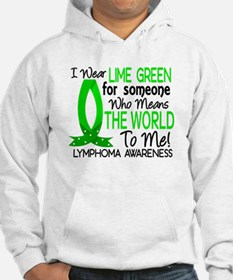Means World To Me 1 Lymphoma Shirts Hoodie