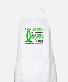 Means World To Me 1 Lymphoma Shirts Apron