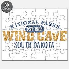 Wind Cave Park South Dakota Puzzle
