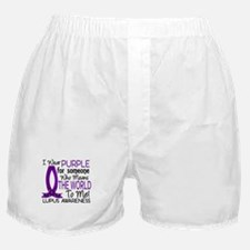 Means World To Me 1 Lupus Shirts Boxer Shorts