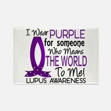 Means World To Me 1 Lupus Shirts Rectangle Magnet