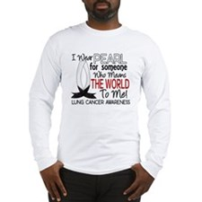 Means World To Me 1 Lung Cancer Shirts Long Sleeve