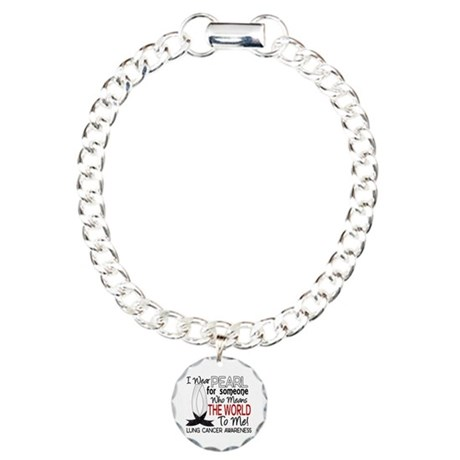 Means World To Me 1 Lung Cancer Shirts Charm Brace