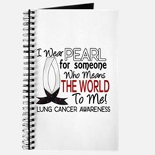 Means World To Me 1 Lung Cancer Shirts Journal
