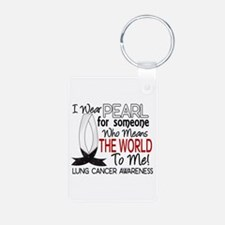 Means World To Me 1 Lung Cancer Shirts Keychains