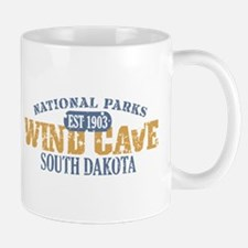 Wind Cave Park South Dakota Mug