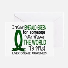 Means World To Me 1 Liver Disease Shirts Greeting