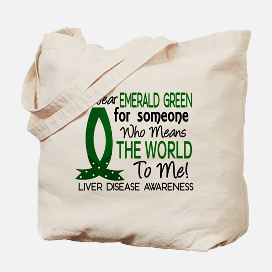 Means World To Me 1 Liver Disease Shirts Tote Bag