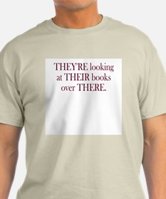 They're Their There - Men's T-Shirt