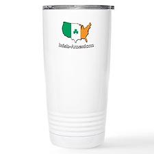 Irish-US Map Travel Mug