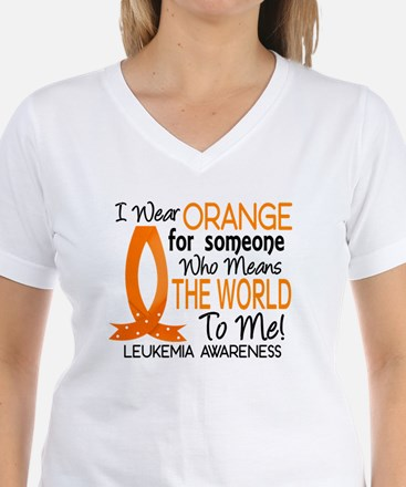Means World To Me 1 Leukemia Shirts Shirt