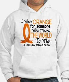 Means World To Me 1 Leukemia Shirts Hoodie