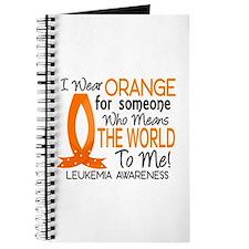 Means World To Me 1 Leukemia Shirts Journal