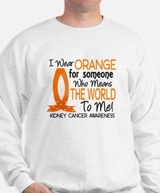 Means World To Me 1 Kidney Cancer Shirts Sweatshir