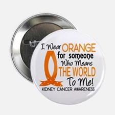 "Means World To Me 1 Kidney Cancer Shirts 2.25"" But"