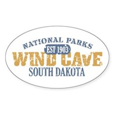 Wind Cave Park South Dakota Decal