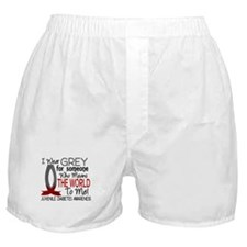 Means World To Me 1 Juvenile Diabetes Shirts Boxer