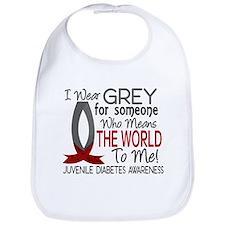 Means World To Me 1 Juvenile Diabetes Shirts Bib