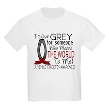 Means World To Me 1 Juvenile Diabetes Shirts T-Shirt