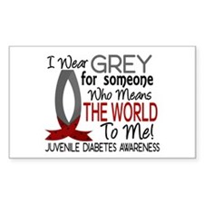 Means World To Me 1 Juvenile Diabetes Shirts Stick