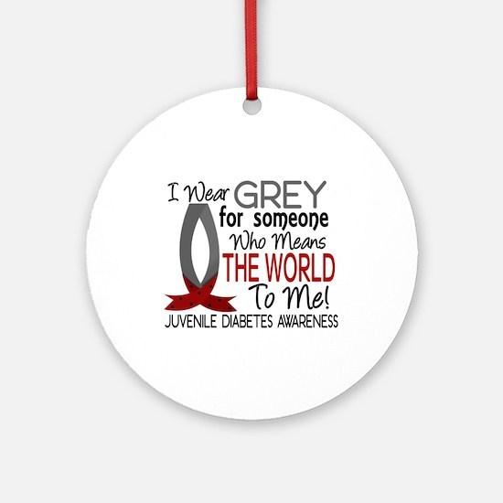Means World To Me 1 Juvenile Diabetes Shirts Ornam