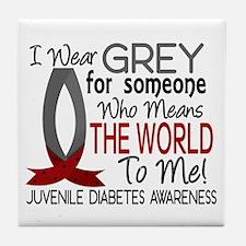 Means World To Me 1 Juvenile Diabetes Shirts Tile