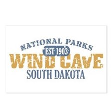 Wind Cave Park South Dakota Postcards (Package of