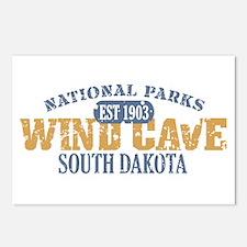 Wind Cave Park South Dakota Postcards (Package of