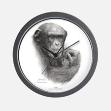 "Great Ape""Grub 'Style #3 Wall Clock"
