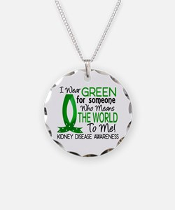 Means World To Me 1 Kidney Disease Shirts Necklace