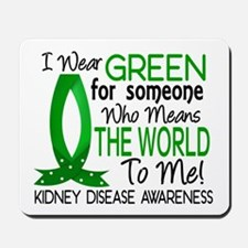 Means World To Me 1 Kidney Disease Shirts Mousepad