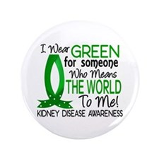 """Means World To Me 1 Kidney Disease Shirts 3.5"""" But"""