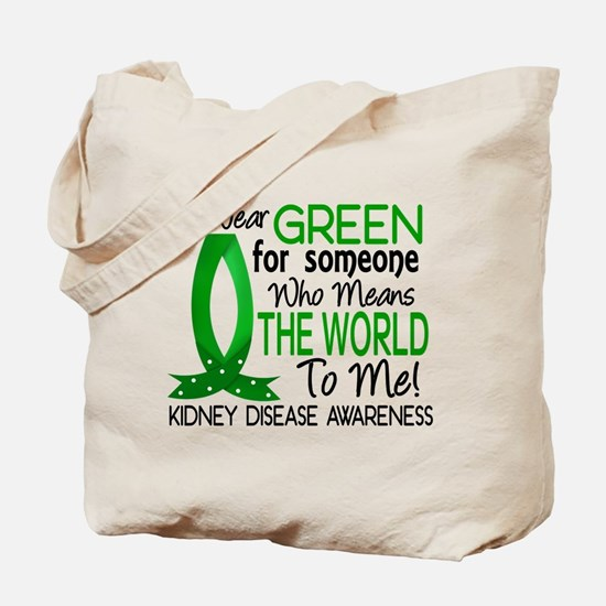 Means World To Me 1 Kidney Disease Shirts Tote Bag