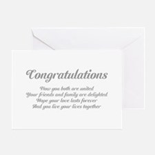 Wedding Congratulations Poem. Greeting Card