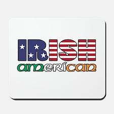 Irish-US Flags Mousepad