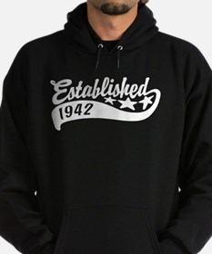 Established 1942 Hoodie (dark)