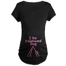 Pink Downward Dog T-Shirt