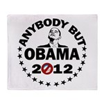 Anybody but Obama Throw Blanket