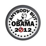 Anybody but Obama Wall Clock