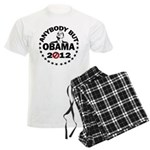 Anybody but Obama Men's Light Pajamas