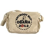 Anybody but Obama Messenger Bag