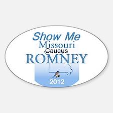 Romney MISSOURI Decal
