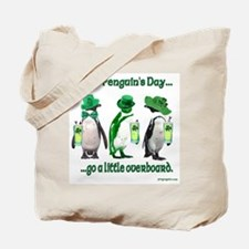 St. Penguin's Day Overboard Tote Bag