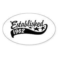 Established 1962 Decal