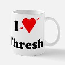 I Love Heart Thresh Mug