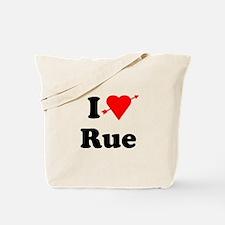 I Heart Love Rue Tote Bag