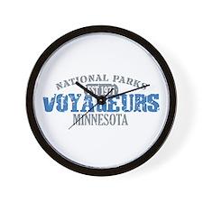 Voyageurs Park Minnesota Wall Clock