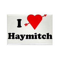 I Heart Love Haymitch Rectangle Magnet