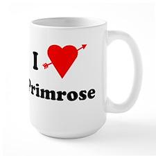 I Heart Love Primrose Mug
